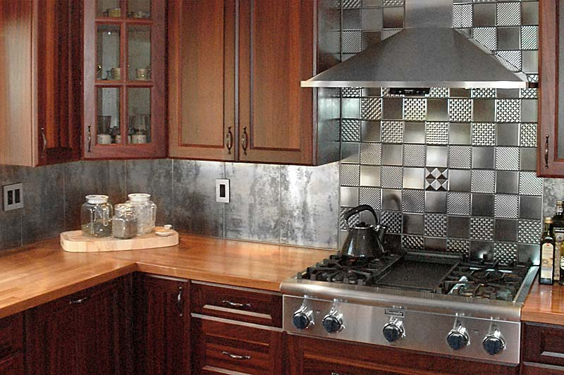 Cherry kitchen island tops and countertops
