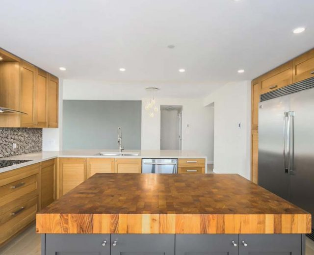 HARDWOOD COUNTERTOPS - KITCHEN ISLAND TOPS - LAFOR
